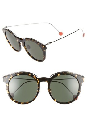 Dior Blossom 52mm Round Sunglasses ($330): http://shopstyle.it/l/MN2
