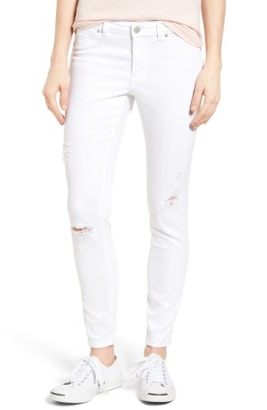 CASLON Distressed Skinny Jeans ($47): http://shopstyle.it/l/LUK