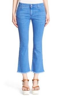 Stella McCartney 'Skinny Kick' Crop Jeans ($225): http://shopstyle.it/l/LUj
