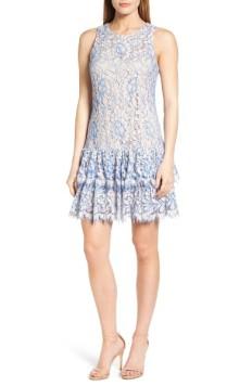 Eliza J Ruffle Lace Dress ($106): http://shopstyle.it/l/LRS