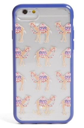 Kate Spade New York Camel March iPhone 7 Case ($27): http://shopstyle.it/l/MOc