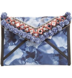 Rebecca Minkoff Dreamy Pom Leo Clutch ($87): http://shopstyle.it/l/MML