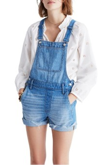 Madewell Adirondack Short Overalls ($70): http://shopstyle.it/l/LUB