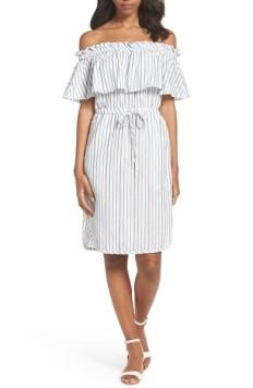 BCBGMAXAZRIA Alexis Off the Shoulder Dress ($155): http://shopstyle.it/l/LRV