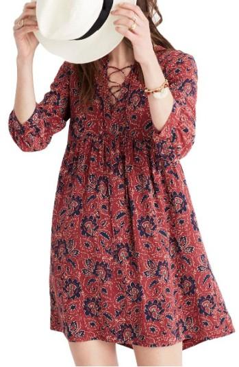 Madewell Silk Babydoll Dress ($120): http://shopstyle.it/l/LRA