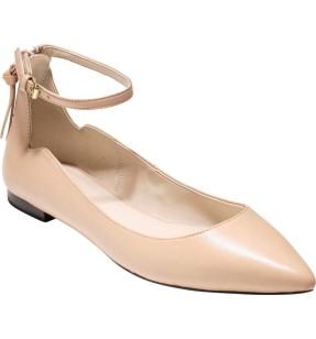 Cole Haan Millicent Ankle Strap Skimmer Flat ($90): http://shopstyle.it/l/Mjb