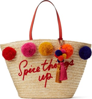 Kate Spade New York Lewis Way Pompom Tote ($200): http://shopstyle.it/l/MOb