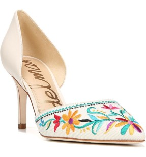Sam Edelman Telsa 2 Embroidered d'Orsay Pump ($84): http://shopstyle.it/l/MhM