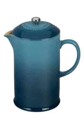 Le Creuset Stoneware French Press ($50): http://shopstyle.it/l/MPr