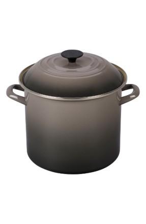 Le Creuset 10-Quart Enamel Cast Iron Stockpot ($110): http://shopstyle.it/l/MPw