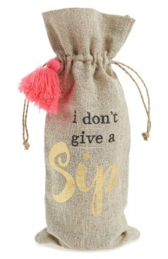 Levtex I Don't Give A Sip Wine Bag ($5): http://bit.ly/2rZStYc