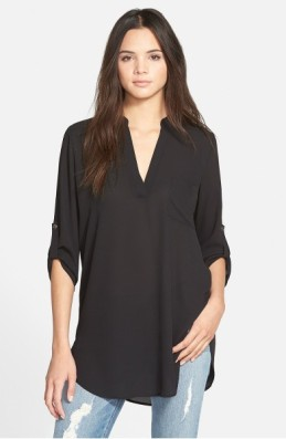Lush Perfect Roll Tab Sleeve Tunic ($28): http://shopstyle.it/l/LX7