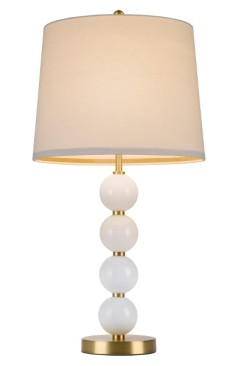 Cupcakes and Cashmere Stacked Ball Table Lamp ($89): http://shopstyle.it/l/MQU