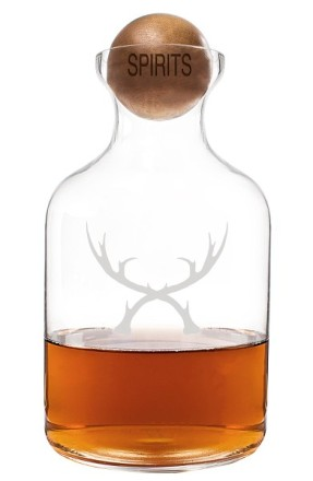 Cathy's Concepts 'Antlers' Glass Decanter & Wood Stopper ($32): http://shopstyle.it/l/MQ5