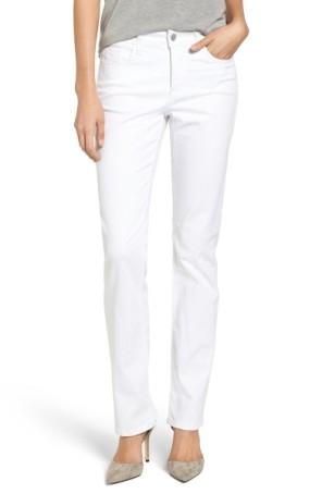 NYDJ Marilyn Stretch Straight Leg Jeans ($90): http://shopstyle.it/l/LUu