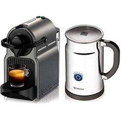 Nespresso Inissia C40 Coffee Machine & Milk Frother ($199): http://shopstyle.it/l/07k