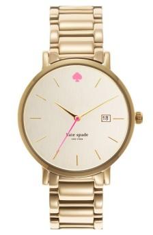 Kate Spade New York Gramercy Grand Bracelet Watch, 38mm ($135): http://shopstyle.it/l/MN7