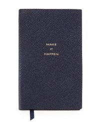 Smythson 'Make it Happen' Notebook ($80): http://shopstyle.it/l/04q