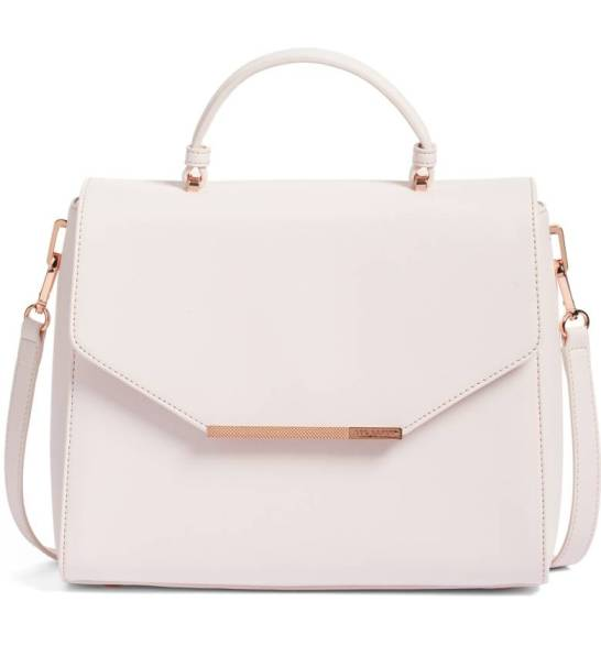 Ted Baker London Large Dajana Faux Leather Top Handle Satchel ($149.90) http://shopstyle.it/l/cPag