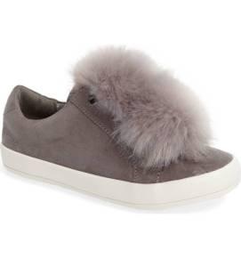 Sam Edelman Cynthia Leya Faux Fur Pompom Slip-On Sneaker ($28.90) http://shopstyle.it/l/cKMB