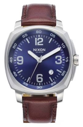 Nixon Charger Leather Strap Watch, 42mm ($132.90) http://shopstyle.it/l/cNSI