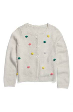 Tucker + Tate Bobble Pompom Polka Dot Cardigan ($29.90) http://shopstyle.it/l/cKMr