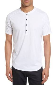 Good Man Brand Short Sleeve Henley ($58.90) http://shopstyle.it/l/cNx4