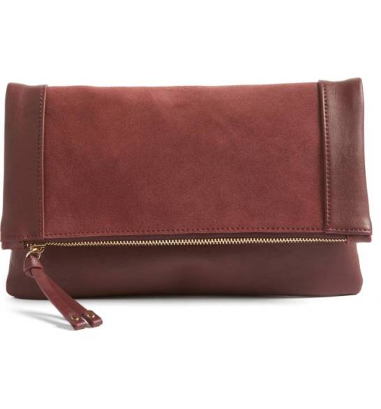 Sole Society Jemma Suede Clutch ($45.90) http://shopstyle.it/l/cPls