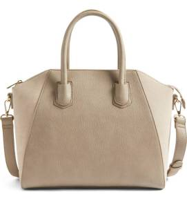 Sole Society Mikayla Faux Leather & Suede Satchel ($52.90) http://shopstyle.it/l/cPlc