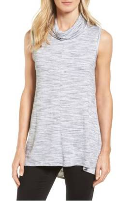 Two by Vince Camuto Space Dye Jersey Cowl Neck Top ($38.90) http://shopstyle.it/l/cXtn