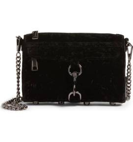 Rebecca Minkoff Mini MAC Velvet Convertible Crossbody Bag ($116.90) http://shopstyle.it/l/cPm0