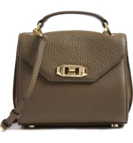 Rebecca Minkoff Top Handle Leather Satchel ($196.90) http://shopstyle.it/l/cPlh