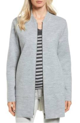 Eileen Fisher Long Bomber Jacket ($285.90) http://shopstyle.it/l/dkwp