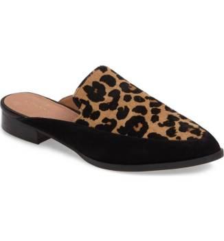 Halogen Corbin Genuine Calf Hair Slide Loafer ($59.90) http://shopstyle.it/l/cOhk
