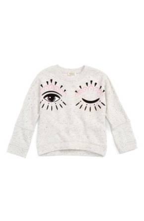 Kenzo Blinking Eye Sweatshirt ($71.90 - $80.90) http://shopstyle.it/l/cKHd