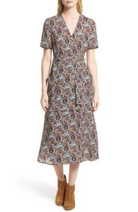 ALC Stephanie Print Silk Wrap Dress ($415.90) http://shopstyle.it/l/dg6p