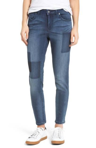 Caslon Patchwork Skinny Jeans ($49.90) http://shopstyle.it/l/c2di