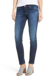 AG The Stilt Cigarette Skinny Jeans ($149.90) http://shopstyle.it/l/c157