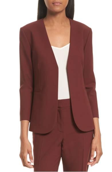 Theory Lindrayia B Betoken Wool Blend Blazer ($289.90) http://shopstyle.it/l/dkuK