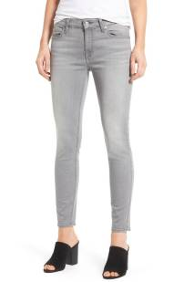 7 For All Mankind b(air) Ankle Skinny Jeans (b(air) Liberty Grey) ($125.90) http://shopstyle.it/l/c2aR