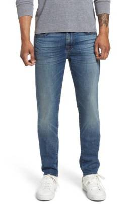 7 For All Mankind Slimmy Slim Fit Jeans (Alki) ($139.90) http://shopstyle.it/l/cNF3
