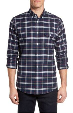 Nordstrom Men's Shop Regular Fit Plaid Non-Iron Sport Shirt ($45.90) http://shopstyle.it/l/cNyl