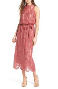 WAYF 'Portrait' Lace midi Dress ($56.90) http://shopstyle.it/l/c3Zm