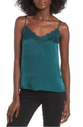 BP. Lace Trim Satin Camisole ($22.90) http://shop.nordstrom.com/s/bp-lace-trim-satin-camisole/4557318