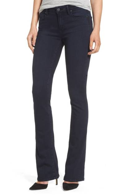 PAIGE Manhattan High Waist Bootcut Jeans (Brighton) ($131.90) http://shopstyle.it/l/c184