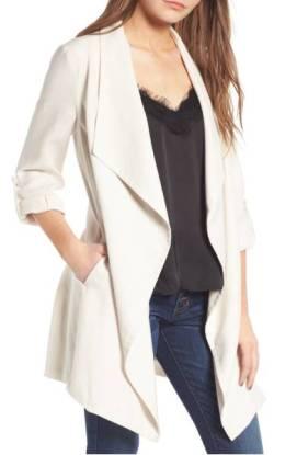 ASTR the Label Drapey Roll Tab Sleeve Jacket ($89.90) http://shopstyle.it/l/dkr0