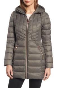 Bernardo Hooded Packable Down & PrimaLoft Coat ($149.90) http://shopstyle.it/l/dkAi