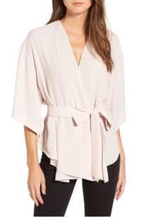Trouve Wrap Blouse ($45.90) http://shopstyle.it/l/cXoM