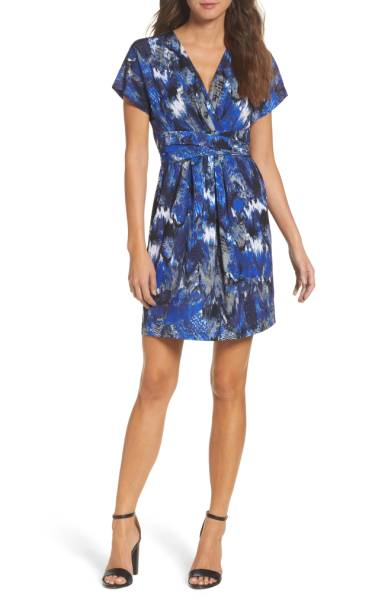 BCBGMAXAZRIA Avery Paradise Wrap Dress ($131.90) http://shopstyle.it/l/c36C