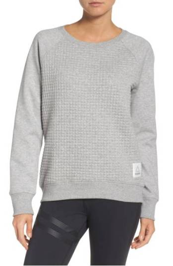Reebok Quilted Crew Sweatshirt ($39.90) http://shopstyle.it/l/cPSt